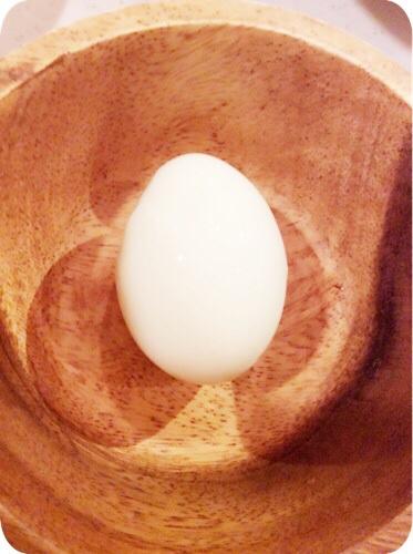 ゆで卵 裏技