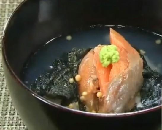 鮭茶漬け ホンマでっかレシピ