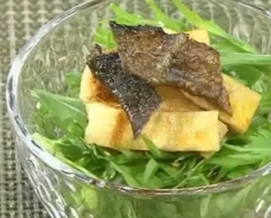 水菜サラダレシピ ホンマでっかTV