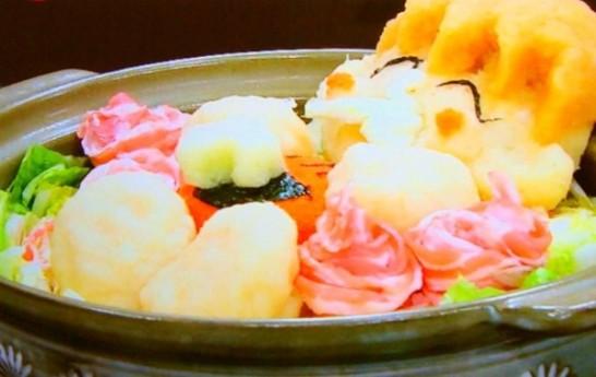 ホンマでっかTVで辻希美が作ったさんまさんのアートミルフィーユ鍋
