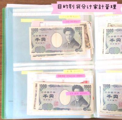 お金ファイルの作り方 袋分け家計管理の写真画像