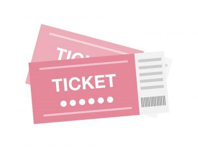 チケットのイラスト画像
