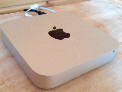 Mac Miniの写真画像