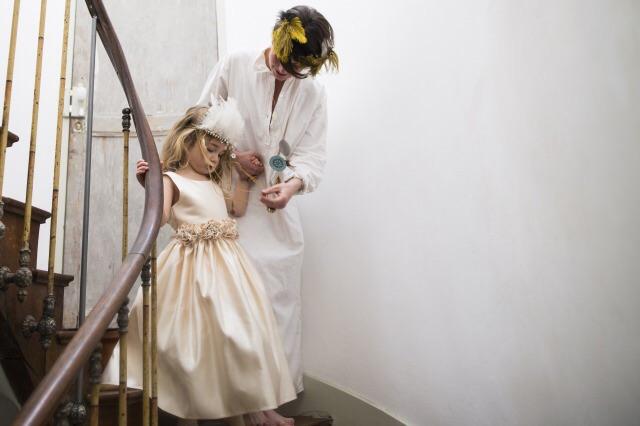小さな女の子のお姫様の写真画像