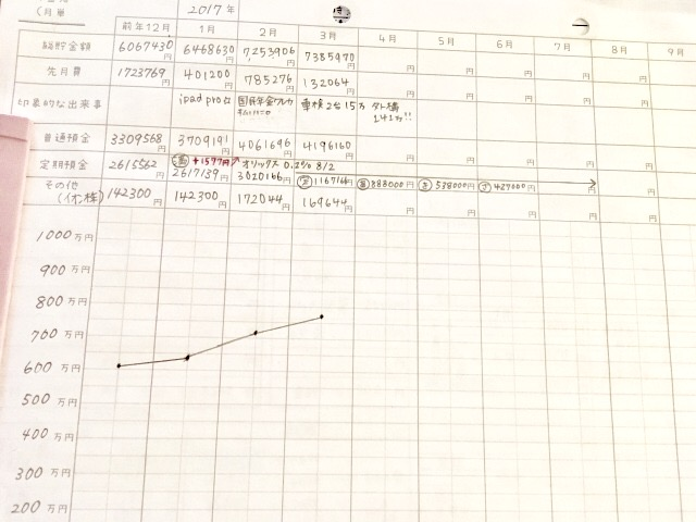 hana家(5人家族)の3月の家計簿結果公開☆
