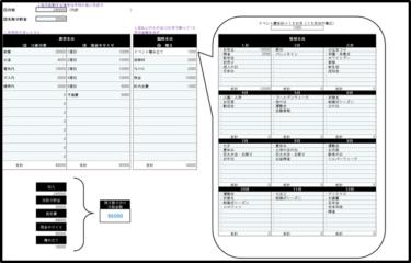 家計簿エクセルテンプレート(予算)